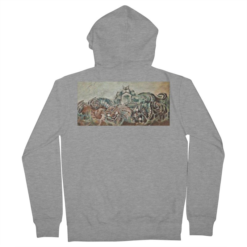 Tu Tangata Men's French Terry Zip-Up Hoody by Artdrips's Artist Shop