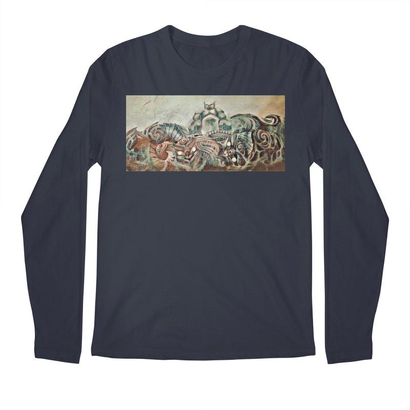Tu Tangata Men's Regular Longsleeve T-Shirt by Artdrips's Artist Shop