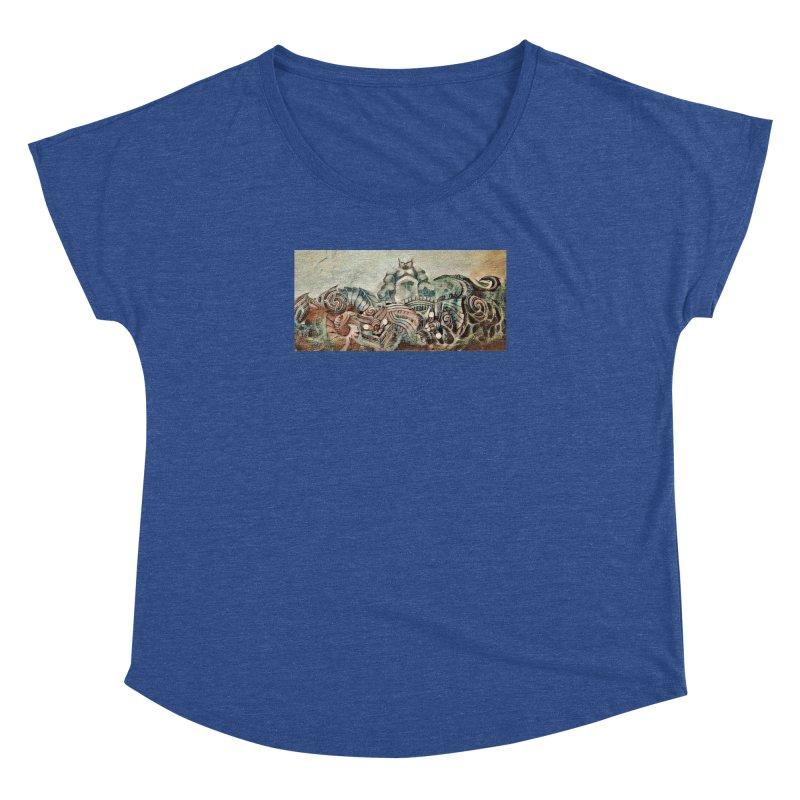 Tu Tangata Women's Dolman Scoop Neck by Artdrips's Artist Shop