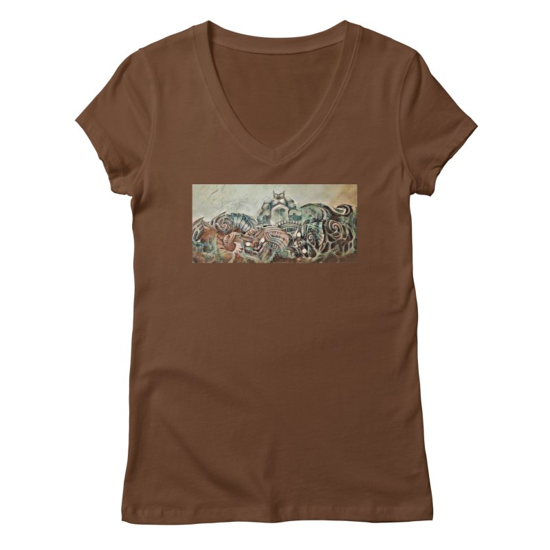 Tu Tangata Women's Regular V-Neck by Artdrips's Artist Shop