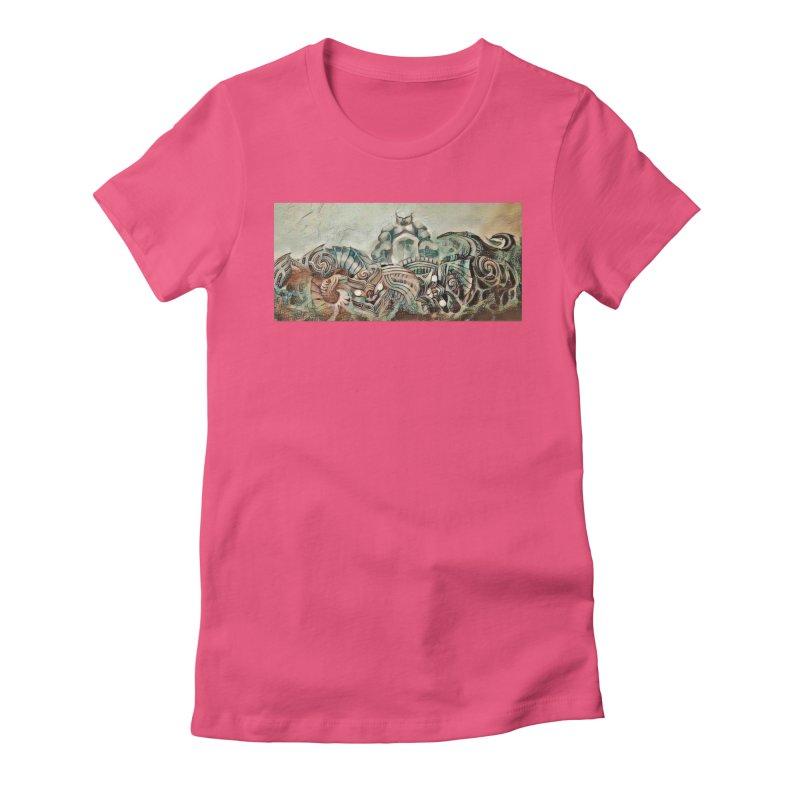 Tu Tangata Women's Fitted T-Shirt by Artdrips's Artist Shop