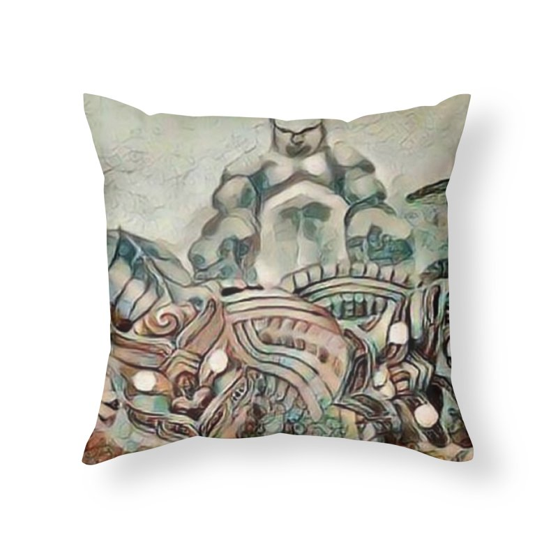 Tu Tangata Home Throw Pillow by Artdrips's Artist Shop