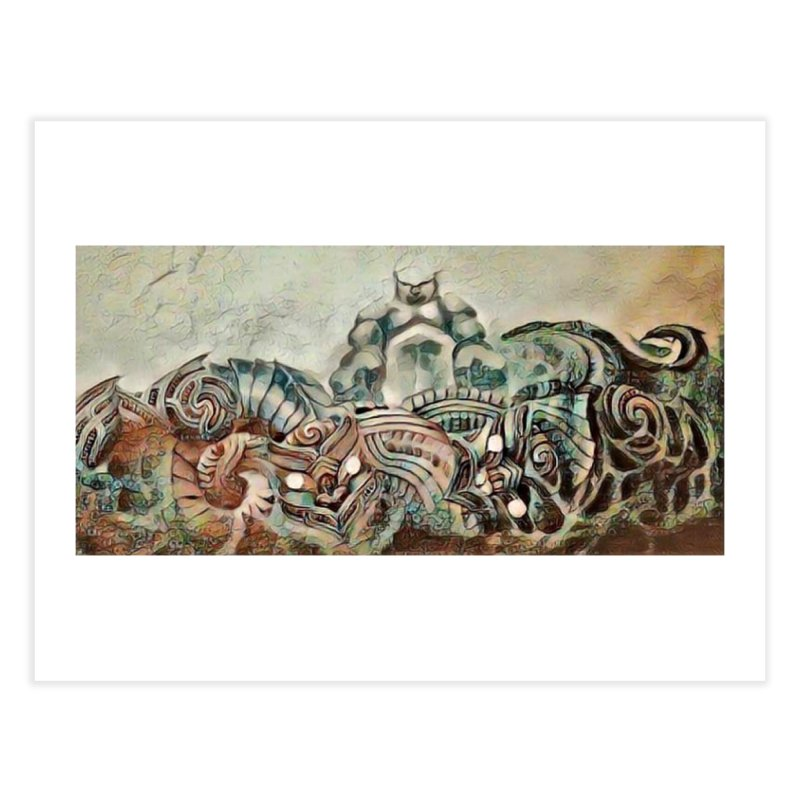 Tu Tangata Home Fine Art Print by Artdrips's Artist Shop