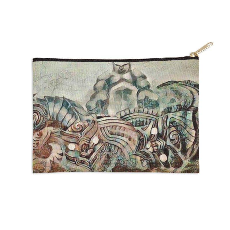 Tu Tangata Accessories Zip Pouch by Artdrips's Artist Shop
