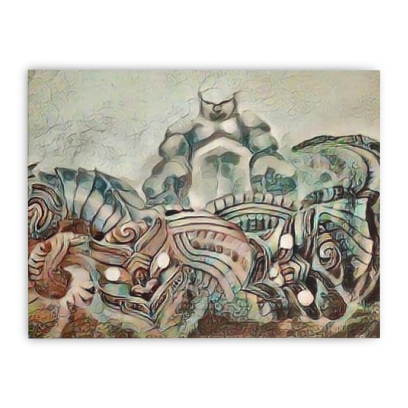 Tu Tangata Home Stretched Canvas by Artdrips's Artist Shop