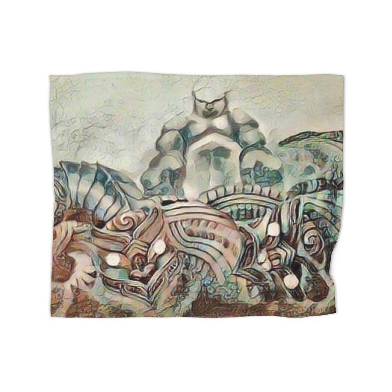 Tu Tangata Home Blanket by Artdrips's Artist Shop
