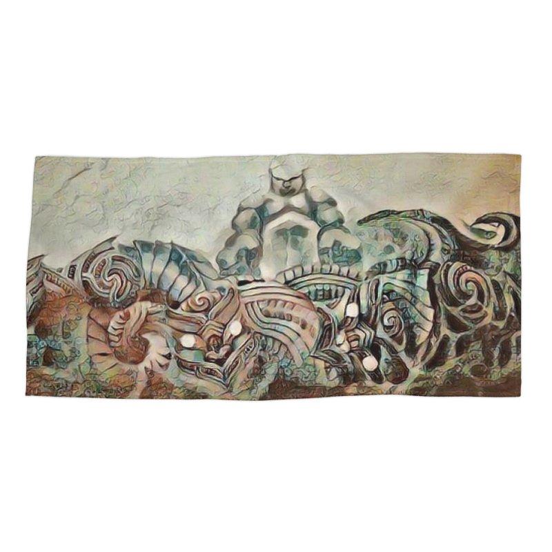 Tu Tangata Accessories Beach Towel by Artdrips's Artist Shop