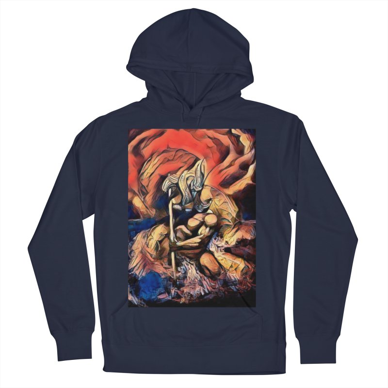 Battle at sea Women's French Terry Pullover Hoody by Artdrips's Artist Shop