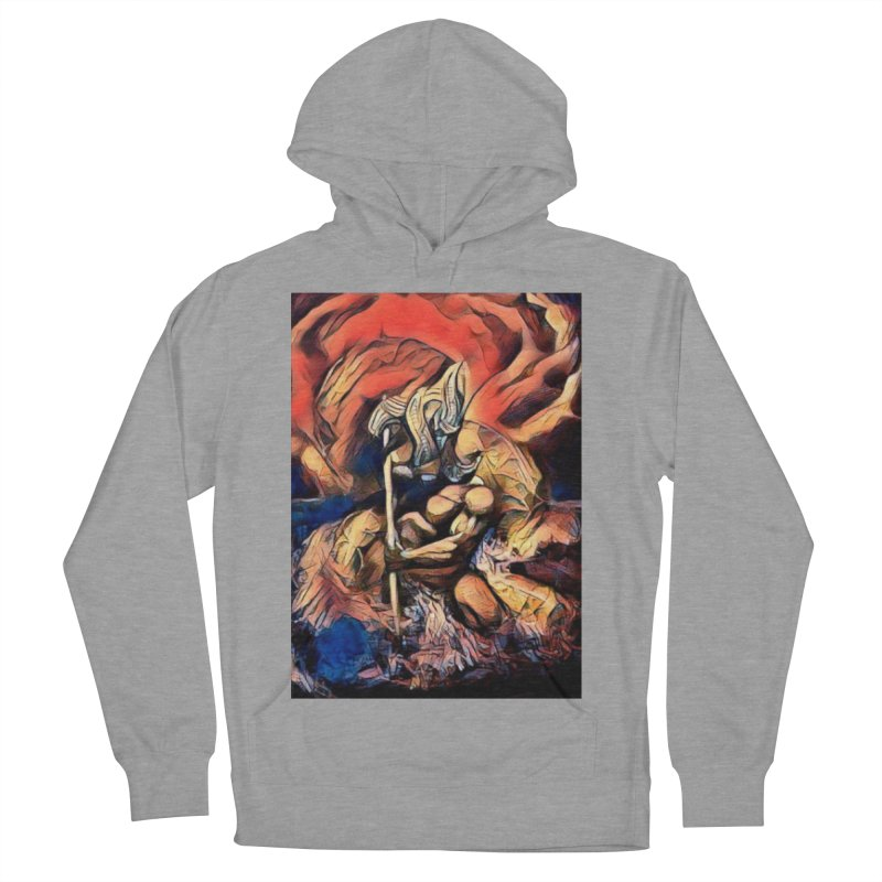 Battle at sea Men's French Terry Pullover Hoody by Artdrips's Artist Shop