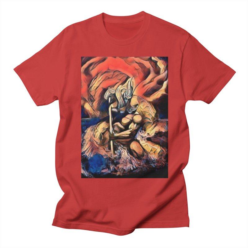 Battle at sea Men's Regular T-Shirt by Artdrips's Artist Shop