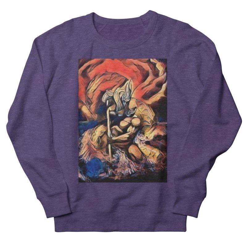 Battle at sea Men's French Terry Sweatshirt by Artdrips's Artist Shop