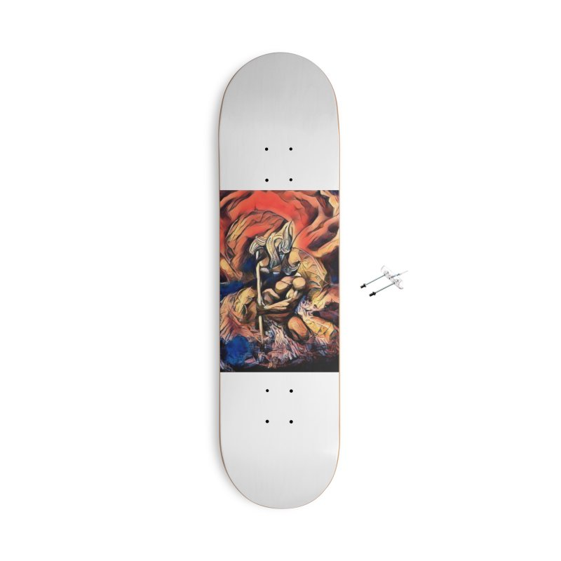 Battle at sea Accessories With Hanging Hardware Skateboard by Artdrips's Artist Shop