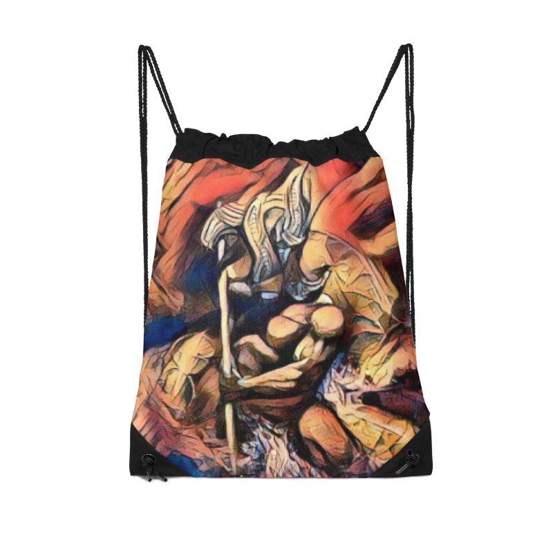 Battle at sea Accessories Drawstring Bag Bag by Artdrips's Artist Shop