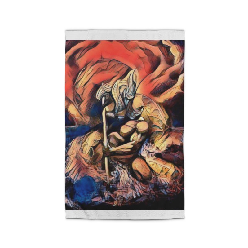 Battle at sea Home Rug by Artdrips's Artist Shop