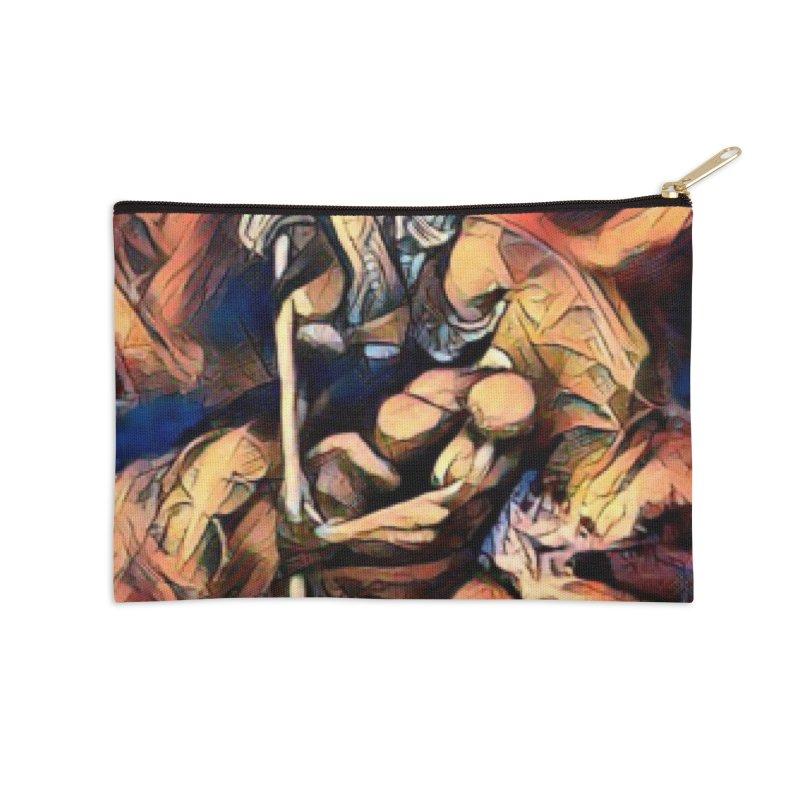 Battle at sea Accessories Zip Pouch by Artdrips's Artist Shop