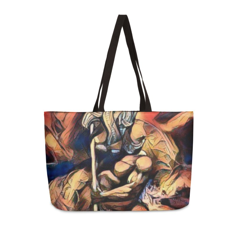 Battle at sea Accessories Weekender Bag Bag by Artdrips's Artist Shop