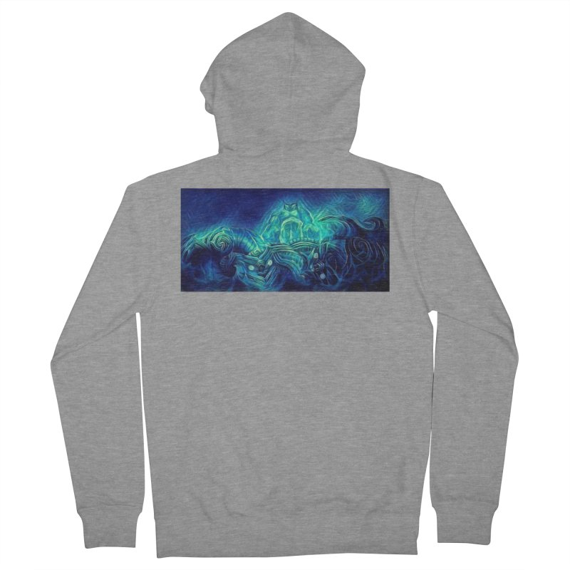 Mythical creatures Women's French Terry Zip-Up Hoody by Artdrips's Artist Shop