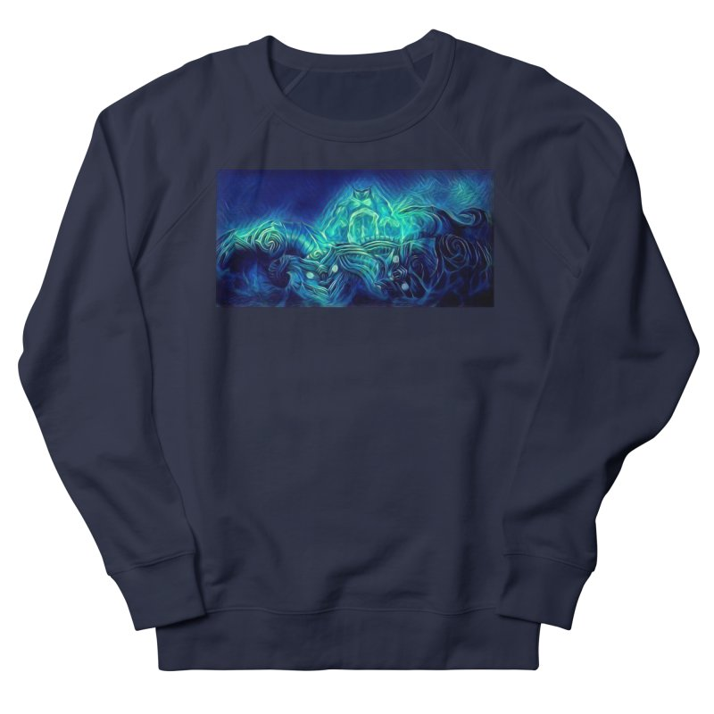 Mythical creatures Men's French Terry Sweatshirt by Artdrips's Artist Shop