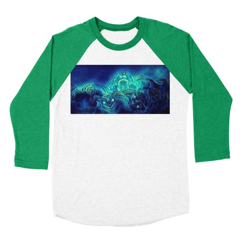 Mythical creatures Women's Baseball Triblend Longsleeve T-Shirt by Artdrips's Artist Shop