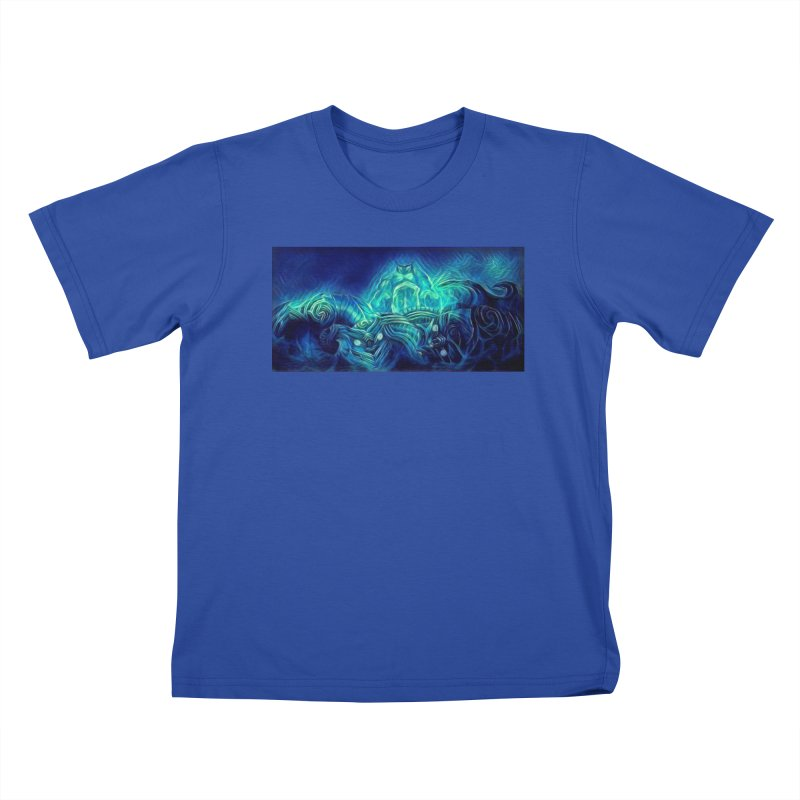 Mythical creatures Kids T-Shirt by Artdrips's Artist Shop