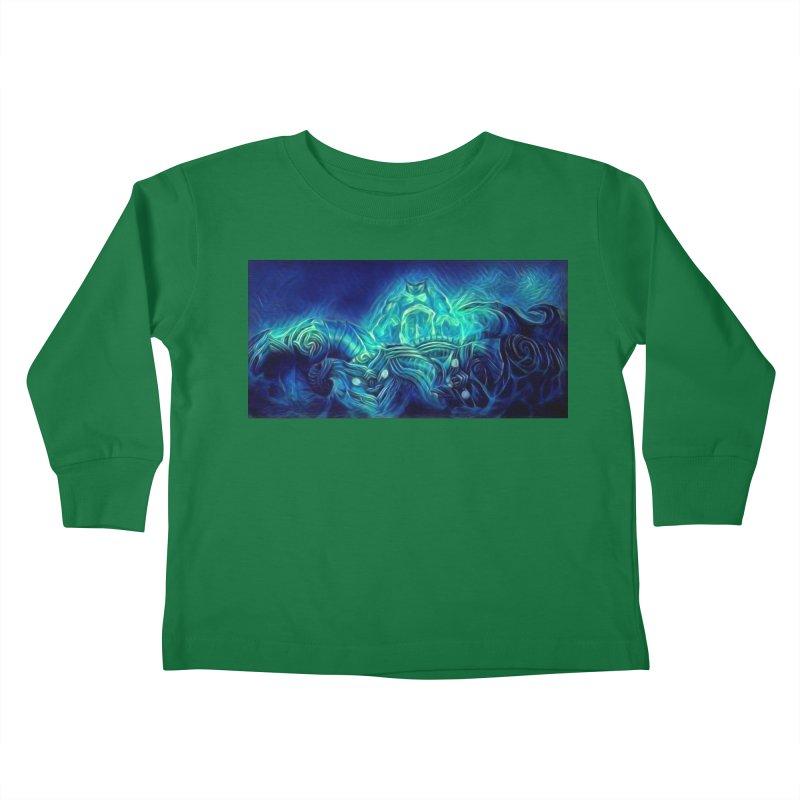 Mythical creatures Kids Toddler Longsleeve T-Shirt by Artdrips's Artist Shop