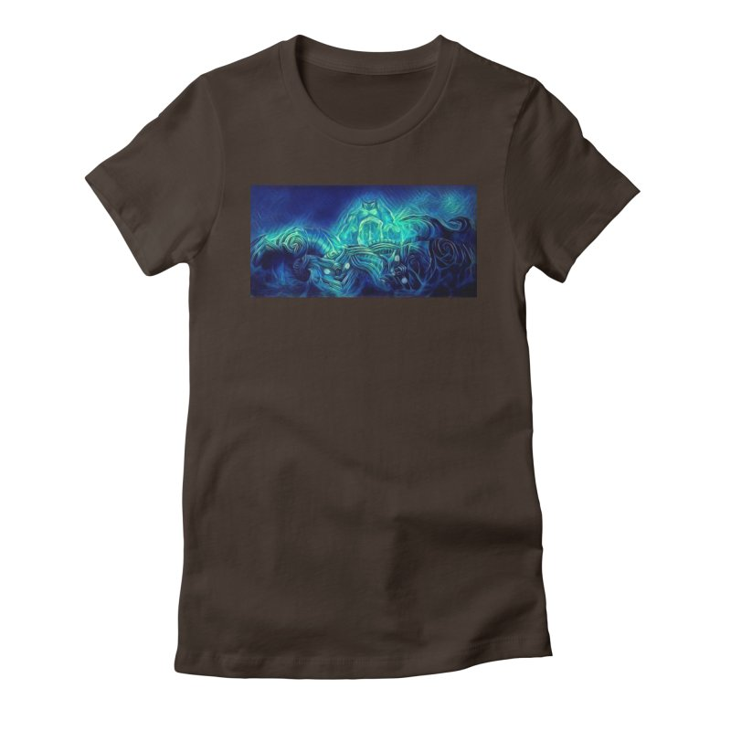 Mythical creatures Women's Fitted T-Shirt by Artdrips's Artist Shop