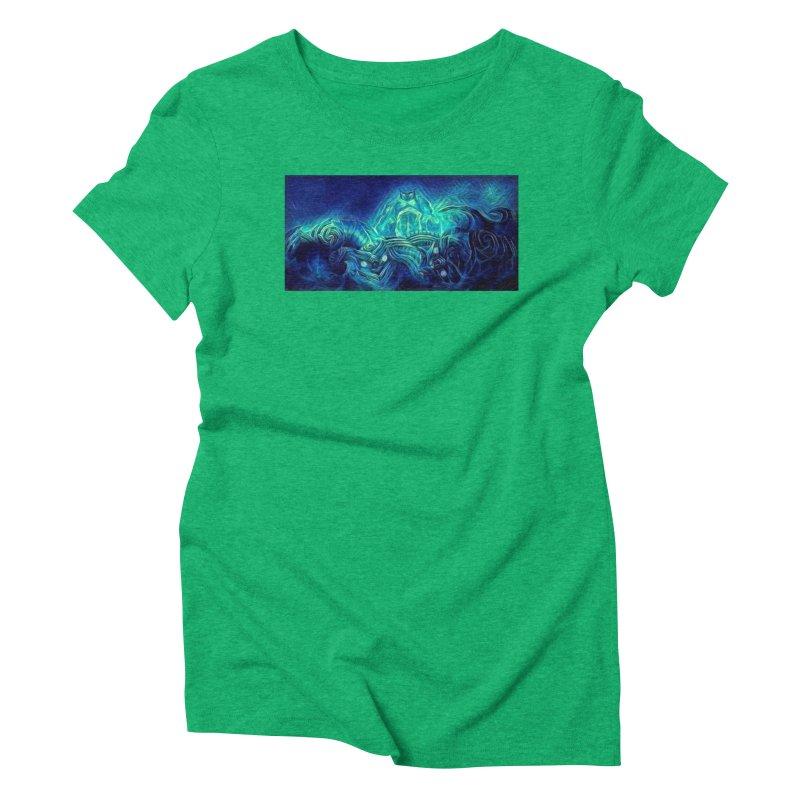 Mythical creatures Women's Triblend T-Shirt by Artdrips's Artist Shop