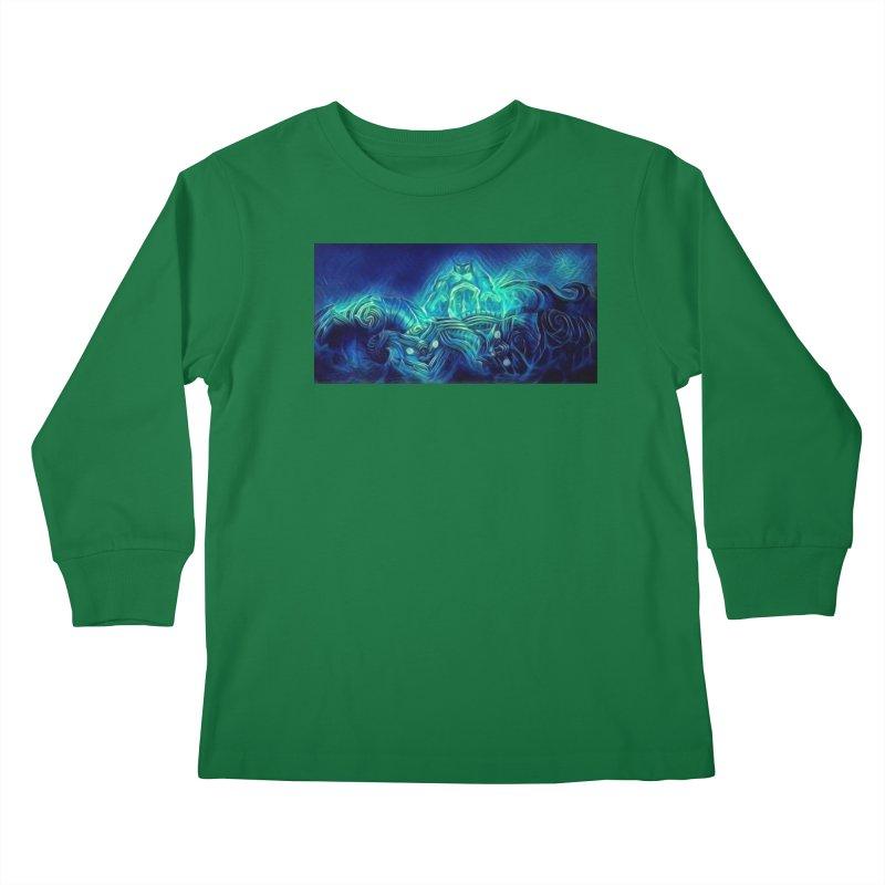 Mythical creatures Kids Longsleeve T-Shirt by Artdrips's Artist Shop