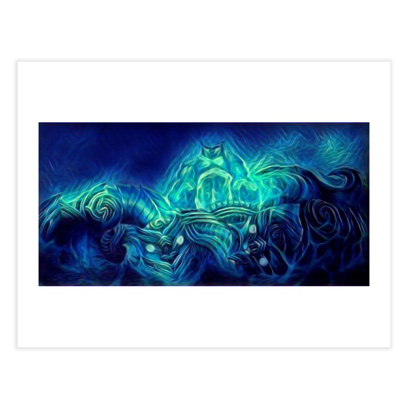 Mythical creatures Home Fine Art Print by Artdrips's Artist Shop
