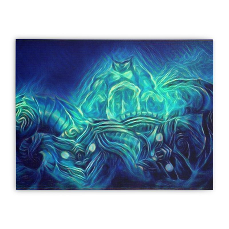 Mythical creatures Home Stretched Canvas by Artdrips's Artist Shop