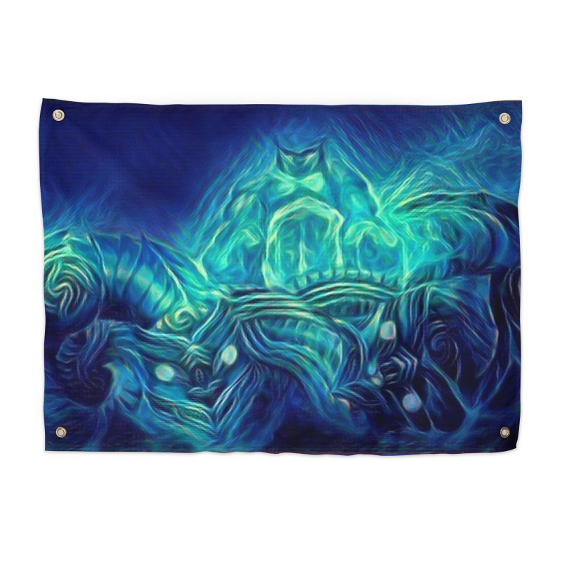 Mythical creatures Home Tapestry by Artdrips's Artist Shop