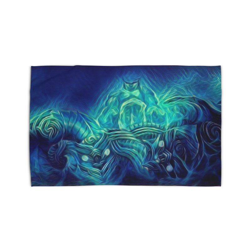 Mythical creatures Home Rug by Artdrips's Artist Shop