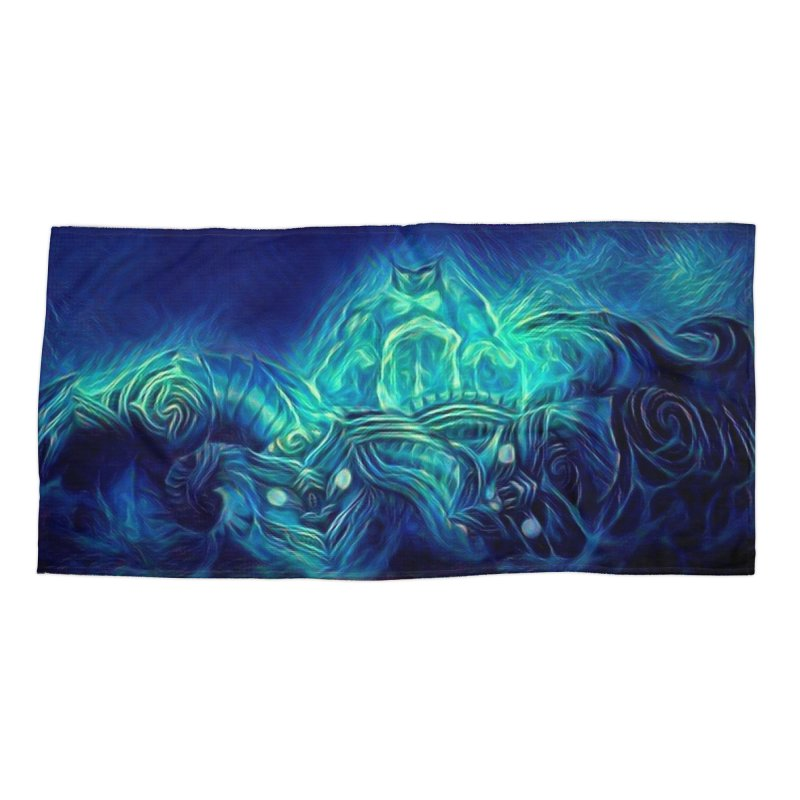 Mythical creatures Accessories Beach Towel by Artdrips's Artist Shop