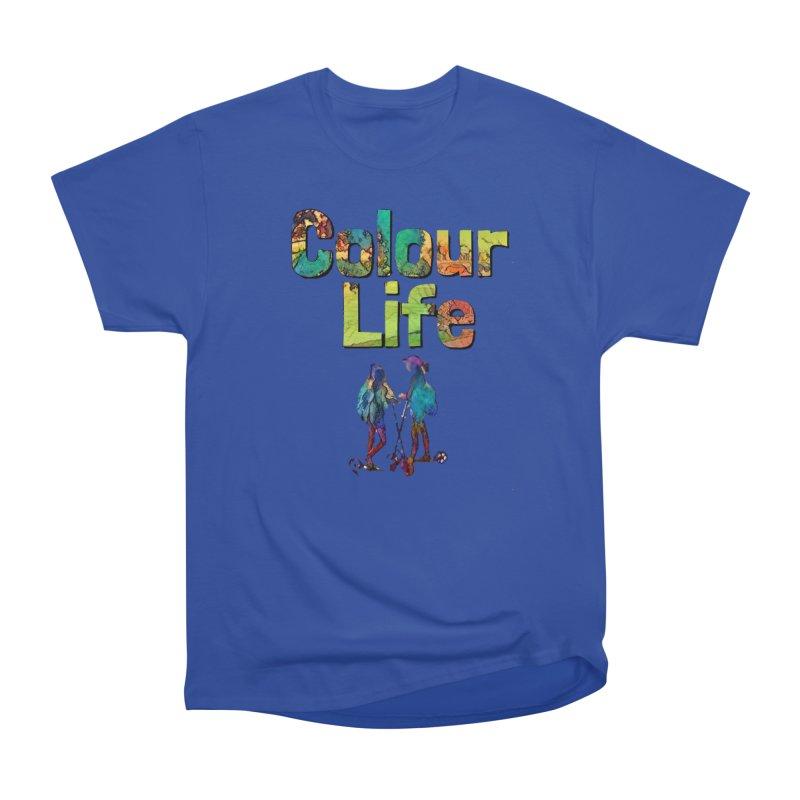 Colour Life Women's Heavyweight Unisex T-Shirt by Artdrips's Artist Shop