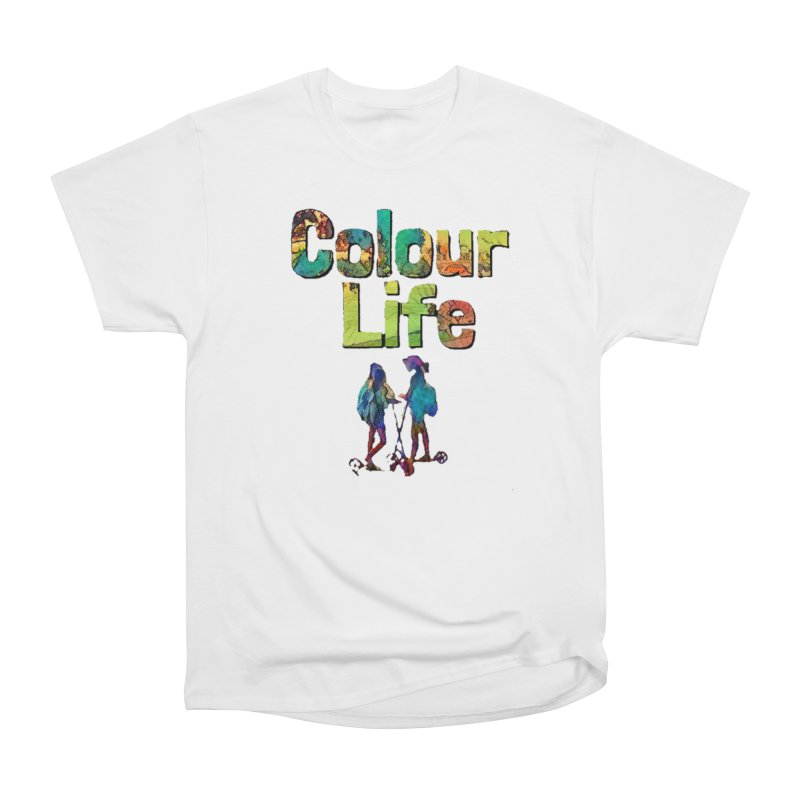 Colour Life Men's Heavyweight T-Shirt by Artdrips's Artist Shop