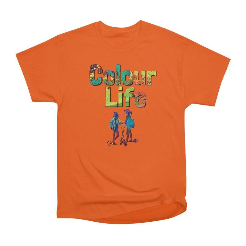 Colour Life Men's Heavyweight T-Shirt by Artdrips's Artist Shop