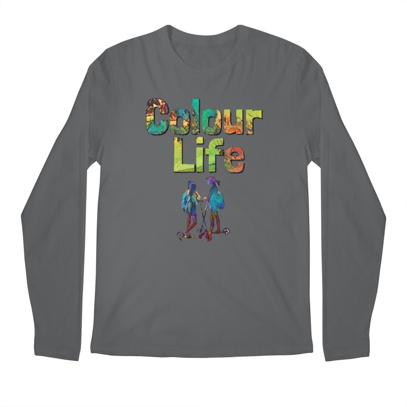 Colour Life Men's Regular Longsleeve T-Shirt by Artdrips's Artist Shop