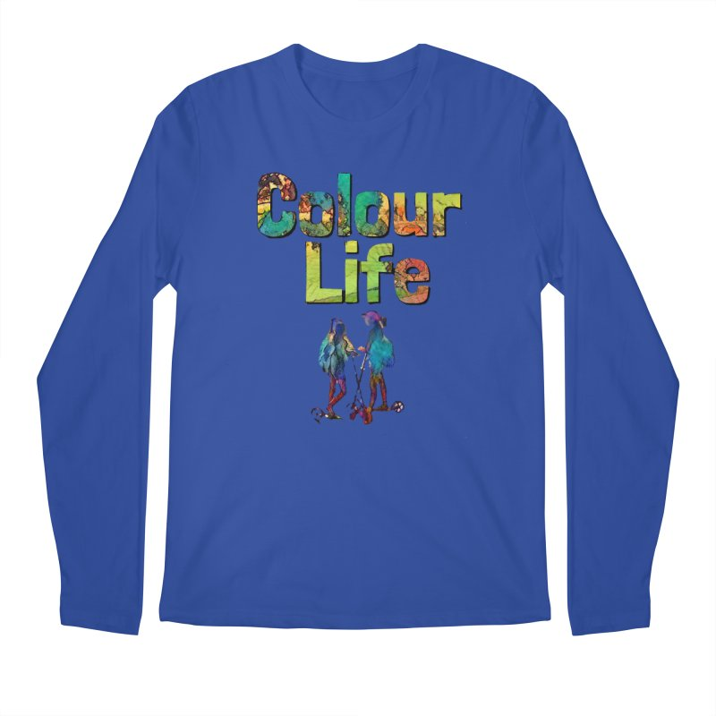 Colour Life Men's Regular Longsleeve T-Shirt by Artdrips's Artist Shop
