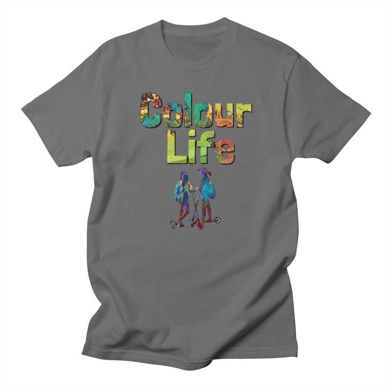 Colour Life Men's Regular T-Shirt by Artdrips's Artist Shop