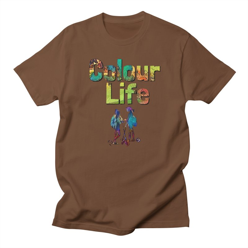 Colour Life Women's Regular Unisex T-Shirt by Artdrips's Artist Shop