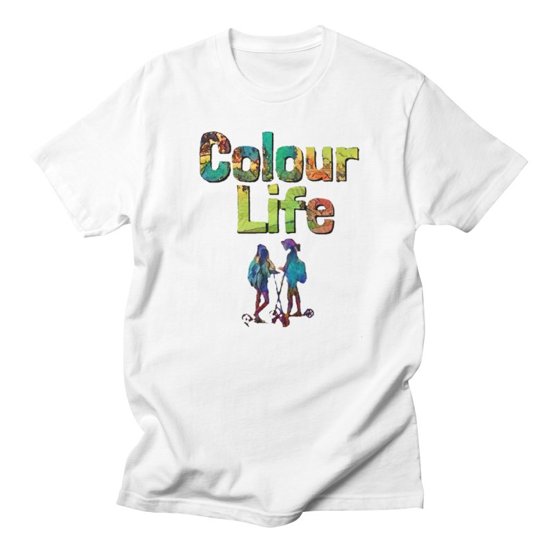 Colour Life Men's Regular T-Shirt by Artdrips's Artist Shop