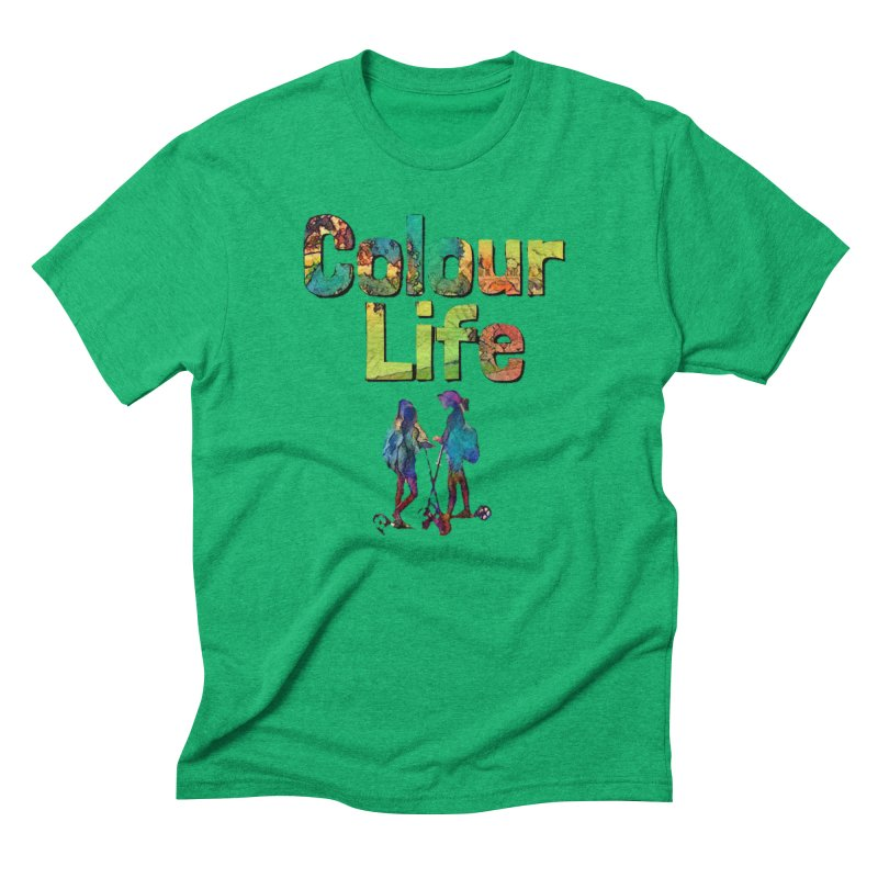 Colour Life Men's Triblend T-Shirt by Artdrips's Artist Shop