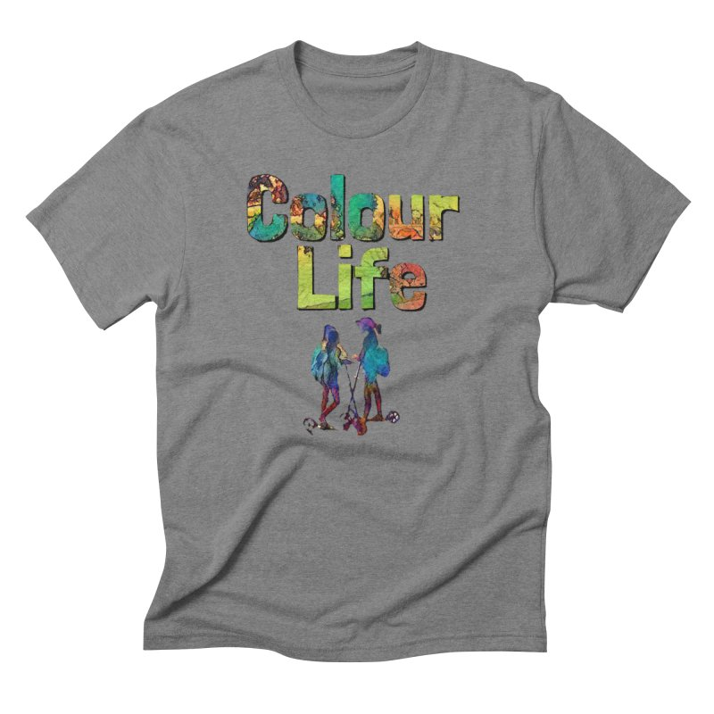 Colour Life Men's Triblend T-Shirt by Artdrips's Artist Shop