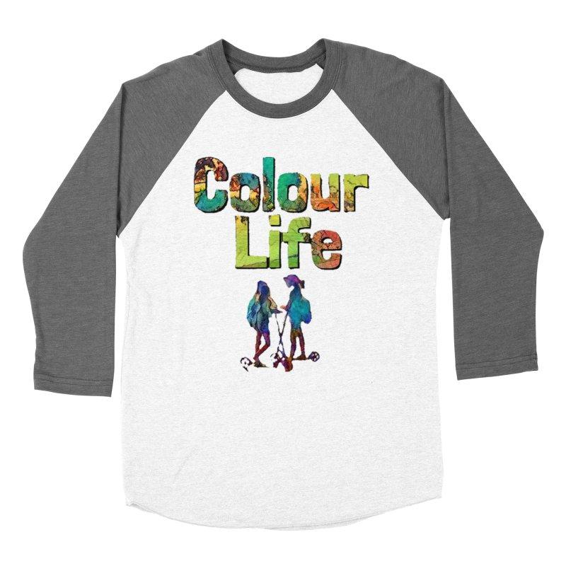 Colour Life Women's Baseball Triblend Longsleeve T-Shirt by Artdrips's Artist Shop