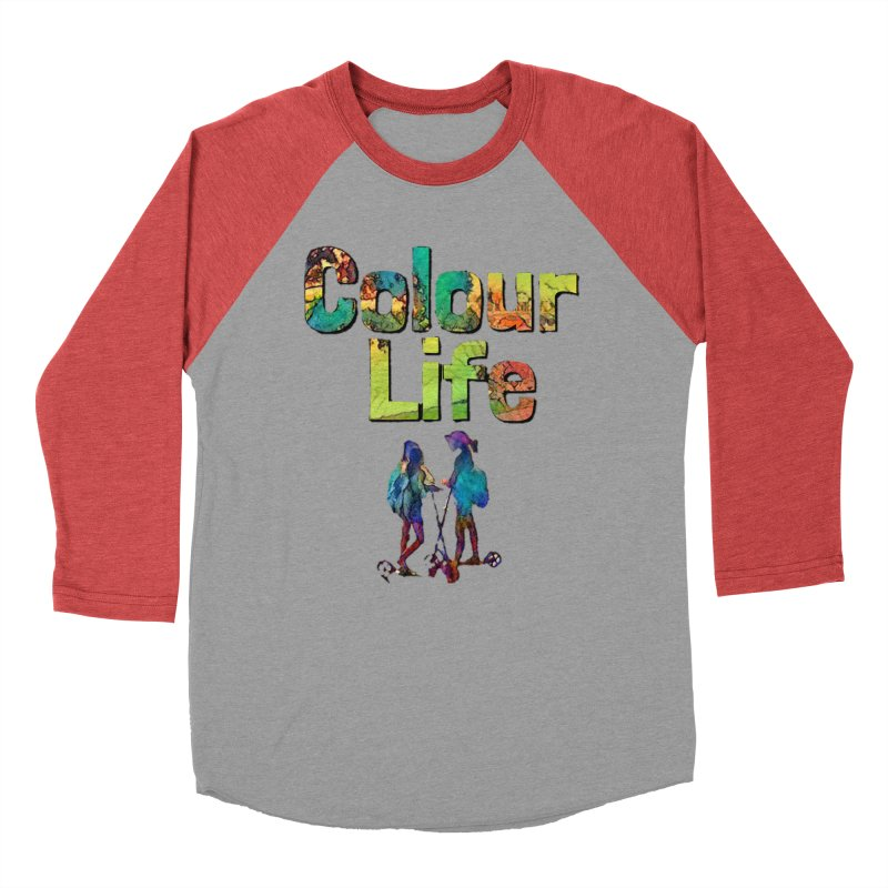 Colour Life Women's Baseball Triblend Longsleeve T-Shirt by Artdrips's Artist Shop