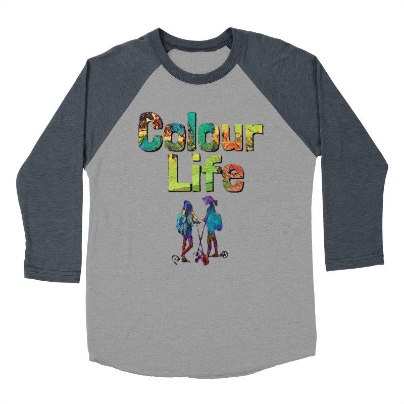Colour Life Men's Baseball Triblend Longsleeve T-Shirt by Artdrips's Artist Shop