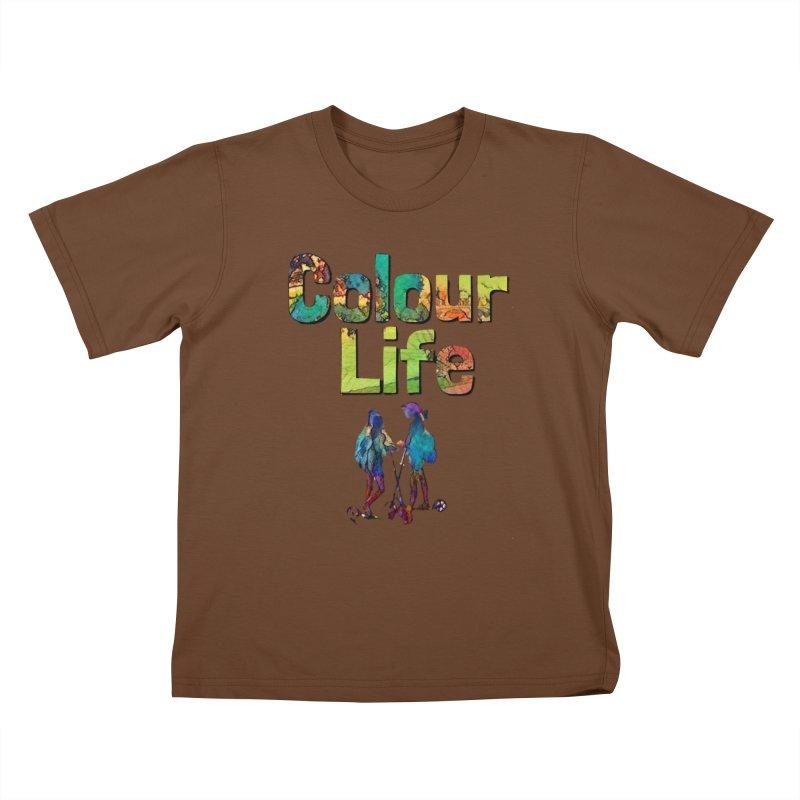 Colour Life Kids T-Shirt by Artdrips's Artist Shop