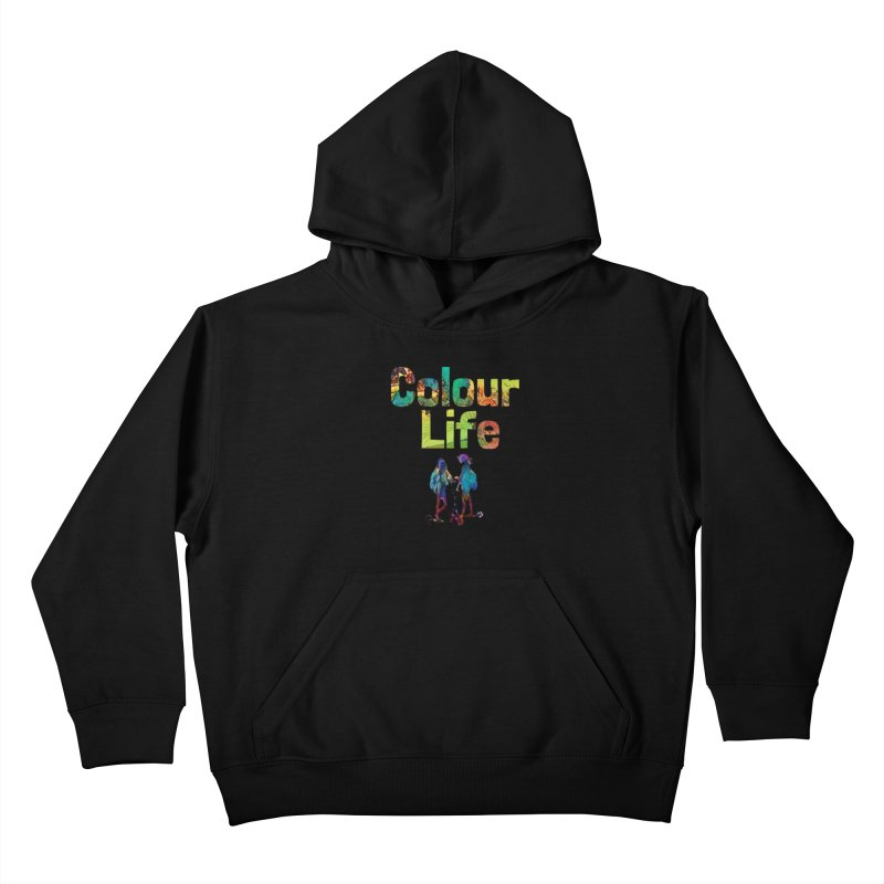 Colour Life Kids Pullover Hoody by Artdrips's Artist Shop