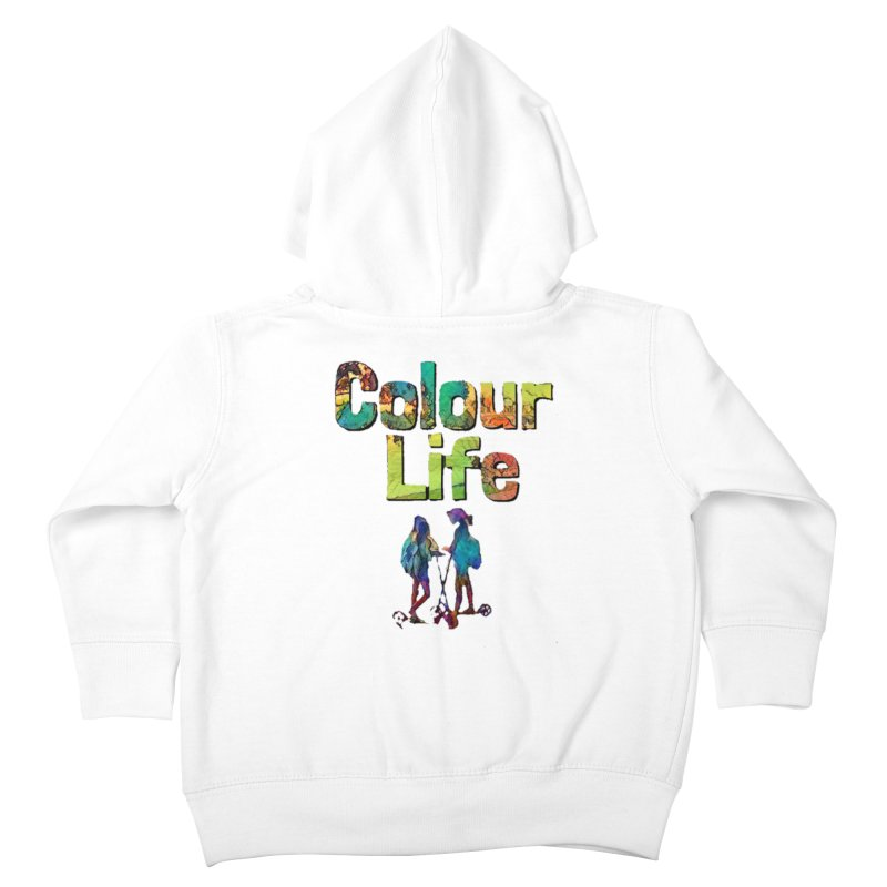 Colour Life Kids Toddler Zip-Up Hoody by Artdrips's Artist Shop