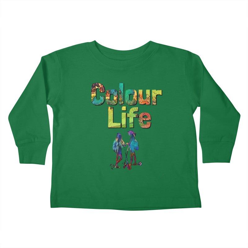 Colour Life Kids Toddler Longsleeve T-Shirt by Artdrips's Artist Shop